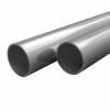 vidaXL vidaXL 2 db rozsdamentes acélcső V2A Ø40x1,8mm, 2 m