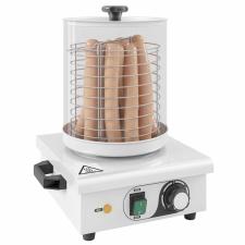 vidaXL vidaXL rozsdamentes acél hot-dog melegítő 450 W hot-dog készítő
