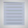 vidaXL Zebra roló 47 x 100 cm-es Fehér