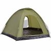 vidaXL Zöld 6 személyes sátor