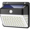 Viking kültéri napelemes LED-es fény VIKING D82 mozgásérzékelővel