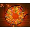 Világító kábel 20 m - színes, 720 mini izzók