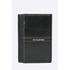 VIP COLLECTION - Bőr pénztárca. - fekete - 1235038-fekete