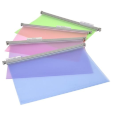 "VIQUEL Függőmappa, műanyag, VIQUEL ""Propysoft"", vegyes színek mappa"
