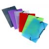 """VIQUEL Gumis mappa, PP, A6, VIQUEL """"Propyglass mini"""", vegyes színek"""