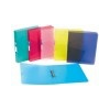 VIQUEL Gyûrûs dosszié, 4 gyûrû, 35 mm, A4, maxi, PP, cserélhetõ címke, VIQUEL Propyglass, kék