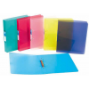 """VIQUEL Gyűrűs dosszié, 2 gyűrű, 35 mm, A4, maxi, PP, cserélhető címke,  """"Propyglass"""", kék"""