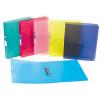 "VIQUEL Gyűrűs dosszié, 2 gyűrű, 35 mm, A4, maxi, PP, VIQUEL ""Propyglass"", kék"