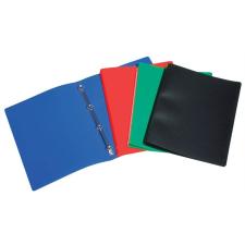 """VIQUEL Gyűrűs dosszié, 4 gyűrű, 20 mm, A4, PP, VIQUEL """"Standard"""", kék gyűrűskönyv"""