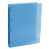 "VIQUEL Gyűrűs dosszié, 4 gyűrű, 35 mm, A4, maxi, PP, VIQUEL ""Propyglass"", kék"