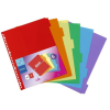 VIQUEL Regiszter, műanyag, A4 Maxi, 6 részes, VIQUEL (IV153587)