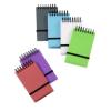 """VIQUEL Spirálnotesz, 75x125 mm, vonalas,  """"Propyglass Mini"""", vegyes színek"""