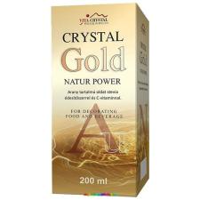 Vita crystal Crystal Gold Natur Power 200 ml – Arany oldat, kolloid - Vita Crystal vitamin és táplálékkiegészítő