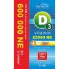 Vita Crystal D3-vitamin 25 000NE heti 1 kapszula 6 hónapos kiszerelés