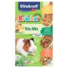 Vitakraft Kräcker Trio-Mix citrus & zöldség & méz kiegészítő eledel tengerimalacoknak 3 x 56 g