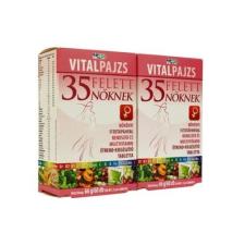 VITALPAJZS Vitalpajzs 35 felett nőknek növényi fitotápanyag rendszer és multivitamin tabletta 60db+60db táplálékkiegészítő