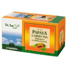 VIVA DR.TEA PAPAYA+ZÖLDTEA FILTERES 20 db gyógytea