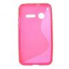 Vodafone Smart 4 mini, TPU szilikon tok, S-Line, rózsaszín