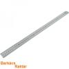 vonalzó, 50 cm, rozsdamentes acél, mindkét oldalán mm-es beosztás