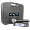 Vonyx Vonyx WM511, 1 csatornás VHF adó rendszer, koffer mellékelve