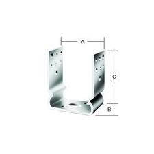 VORMANN OSZLOPTALP 71287 81X60X120 CSAV. építőanyag