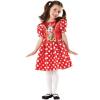 Vörös Minnie egér jelmez - L méret
