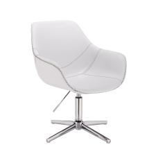 Votana HR876CROSS Fehér Ekológikus Bőr szék tárgyalószék