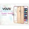 Vouni Apple iPhone 6/6S hátlap kristály díszitéssel - Vouni Crystal Reverie - champagne gold