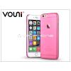 Vouni Apple iPhone 6/6S hátlap - Vouni Soft - crystal pink