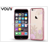 Vouni Apple iPhone 6 Plus/6S Plus hátlap kristály díszitéssel - Vouni Crystal Gorgeous - rose gold