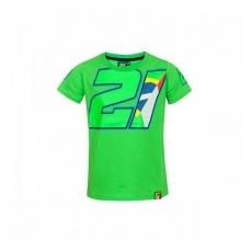 VR46 Franco Morbideli gyerek póló green numero 21 - 10-11 ĂŠv