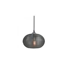 - VTAC üveg burás csillár (E27) - fekete színű bura (3880) világítás