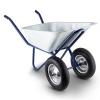Waldbeck Waldbeck Heavyload talicska, 120l, 320kg, kerti talicska, kétkerekű, acél, kék