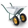 Waldbeck Waldbeck Heavyload talicska, 120l, 320kg, kerti talicska, kétkerekű, acél, zöld