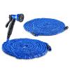 Waldbeck Water Wizard kerti locsolócső, 60 m, 30 m locsolócső, 30 m hosszabbító cső, kék