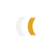 Walker Tape Bumeráng sárga CC, kétoldalú paróka ragasztószalag, 36 db ragasztószalag