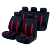 Walser üléshuzatok az egész jármű Hastings piros / fekete