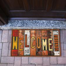 Welcome lábtörlő, 40x60 cm lakástextília