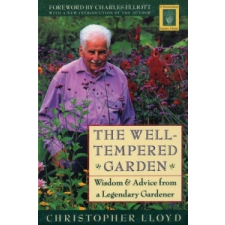 Well-Tempered Garden – Christopher Lloyd idegen nyelvű könyv