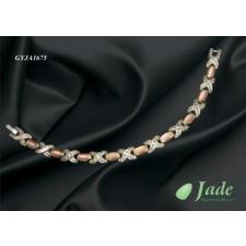 Wellmed Mágneses karkötők (Jade Titánium rózsaszínköves) -GYJA1675 karkötő