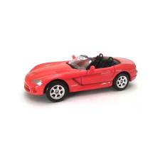 Welly Dodge Viper SRT-10 2003 kisautó, 1:60-64 autópálya és játékautó