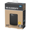 "Western Digital 2TB 2,5"" Elements Portable SE Black USB 3.0 Külső HDD"