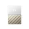 "Western Digital HDD EXT WD My Passport Ultra 2,5"" 2TB USB3.0 Fehér-Arany"