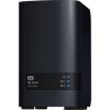 Western Digital My Cloud EX2 Ultra hálózati adattároló, 16TB, USB 3.0 (WDBVBZ0160JCH-EESN)