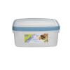 WHITEFURZE Ételtartó, szögletes, 2 liter, WHITEFURZE, türkizkék