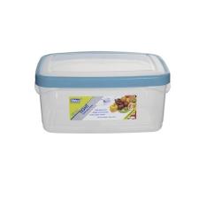 WHITEFURZE Ételtartó, szögletes, 2 liter, WHITEFURZE, türkizkék konyhai eszköz