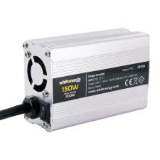 Whitenergy 12V - 230V 150 W  USB  mini csatlakozó feszültség átalakító (autós) laptop kellék