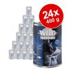 Wild Freedom Adult gazdaságos csomag (24 x 400 g) - Cold River - tőkehal & csirke