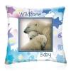 Wild Zone Baby díszpárna (jegesmedvék)
