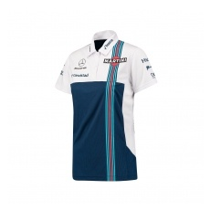 Williams F1 Team Williams Martini Racing női galléros póló 2017 - XXS